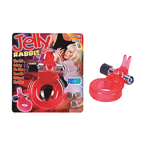 Jelly Rabbit Cock Ring