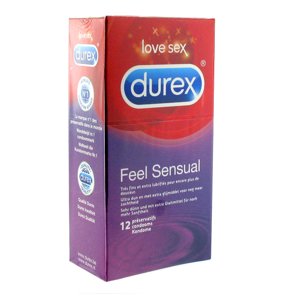 Durex - Feel Sensual Condoms 12 pcs