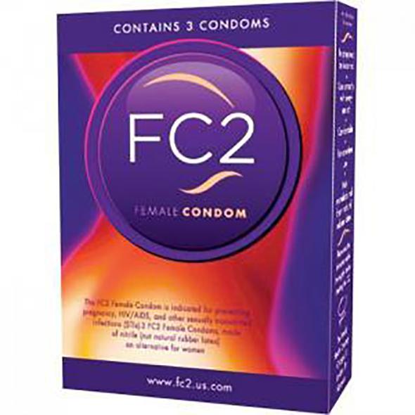 Femidom Female Condom 3 pcs