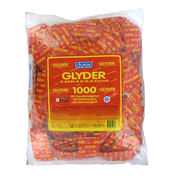 Durex - Glyder Ambassador Condoms 1000 pcs