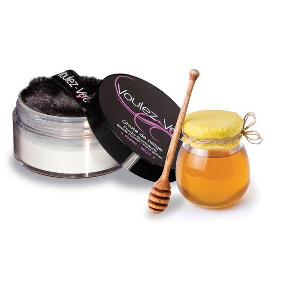Voulez-Vous... - Edible Body Powder Honey