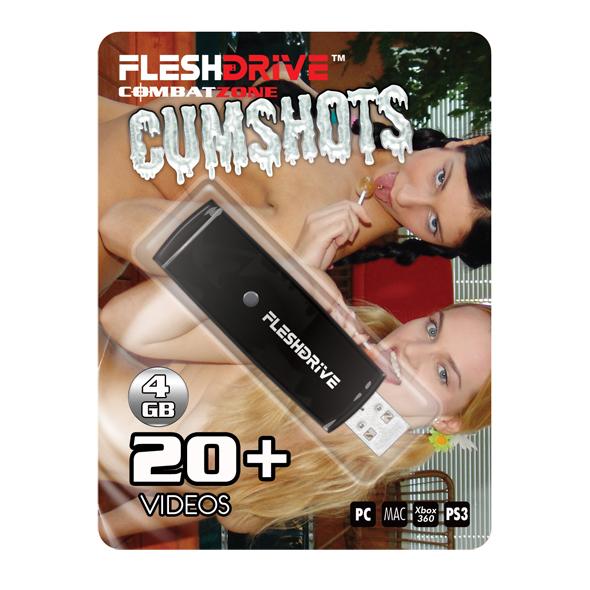 FleshDrive - Cumshots: volume 1