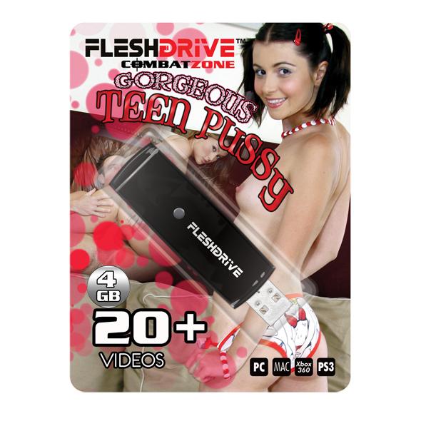 FleshDrive - Gorgeous Teen Pussy: volume 1
