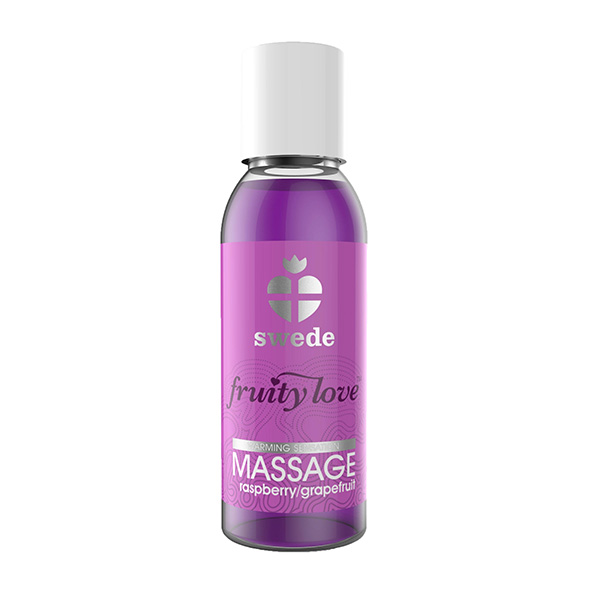 Swede - Fruity Love Massage Rasp/Grapefruit 50 ml