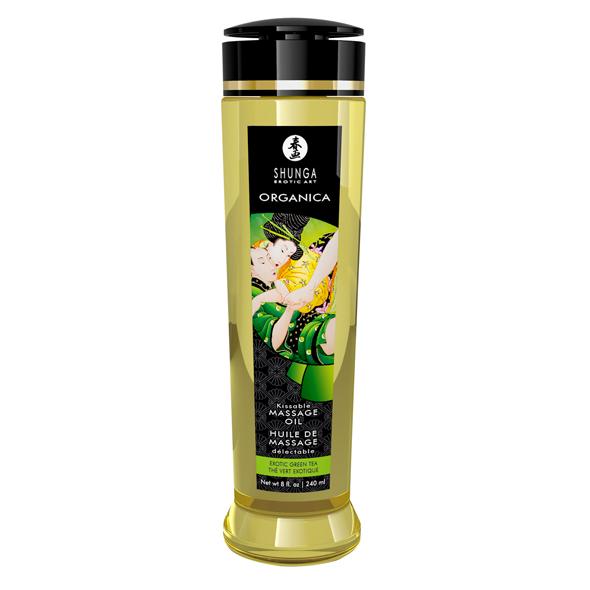 Shunga - Massage Oil Organica Erotic Green Tea