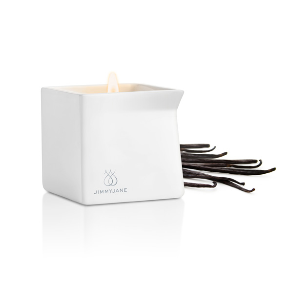 Jimmyjane - Afterglow Massage Candle Dark Vanilla