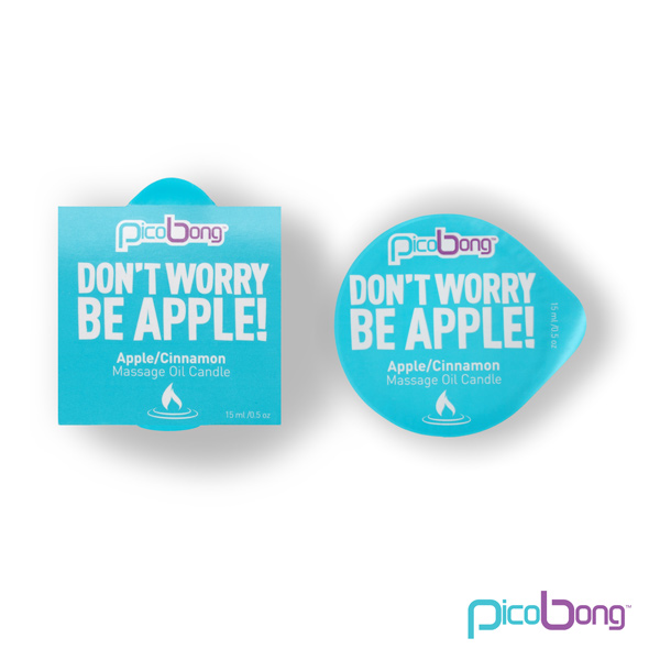 PicoBong - Apple & Cinnamon Massage Oil Candle