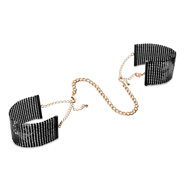 Bijoux Indiscrets - Désir Métallique Cuffs Black