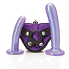 Tantus - Bend Over Beginner Harness Kit Purple Haz