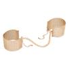 Bijoux Indiscrets - Désir Métallique Cuffs Gold