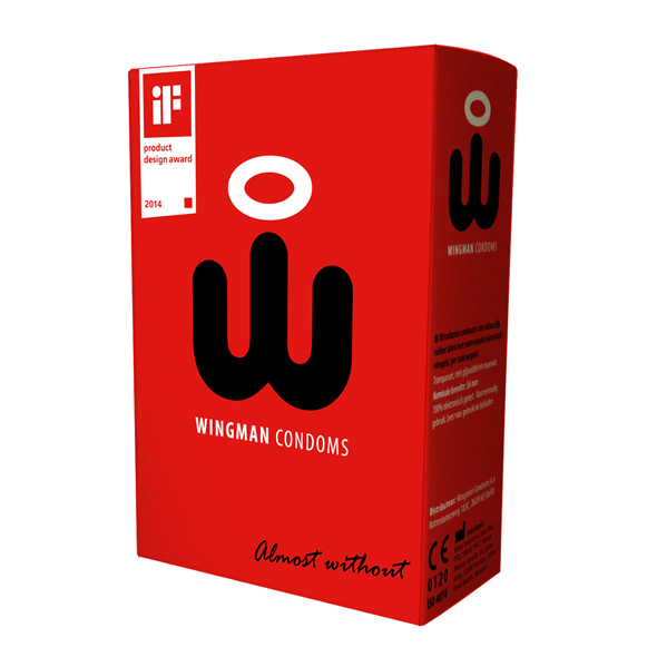 Wingman - Condoms 8 Pieces