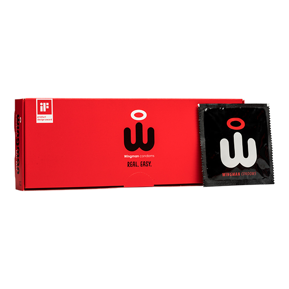 Wingman Condoms 12 Pieces