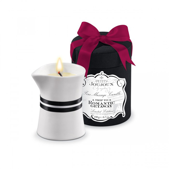 Petits Joujoux - Massage Candle Rom. Getaway 190 gram