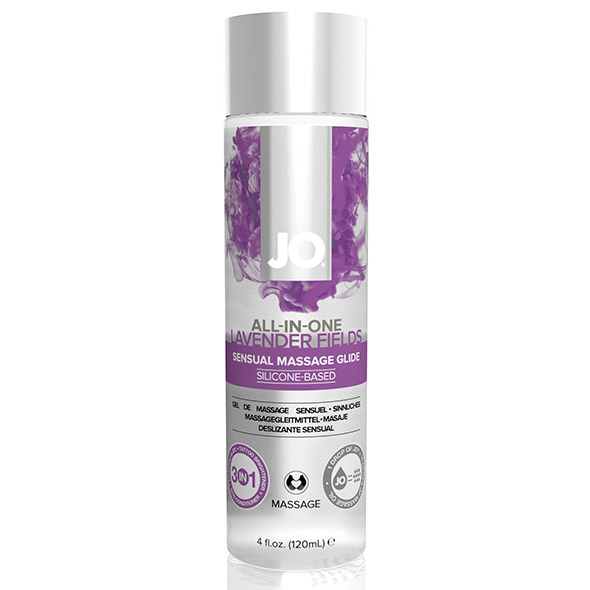 System JO - All-in-One Sensual Massage Glide Lavender 120 ml