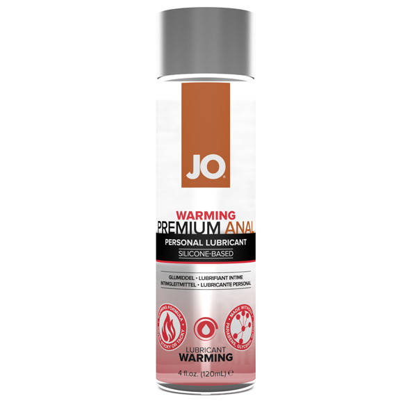 System JO - Premium Anal Silicone Lubricant Warming 120 ml