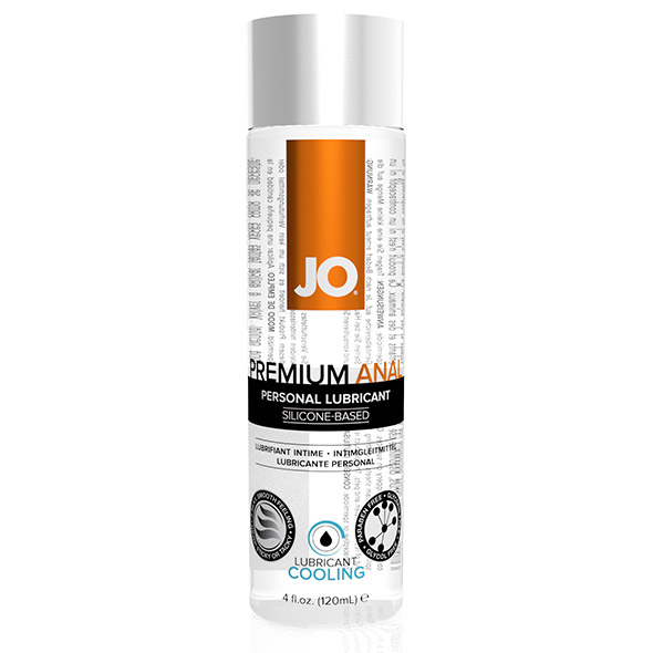 System JO - Premium Anal Silicone Lubricant Cool 120 ml