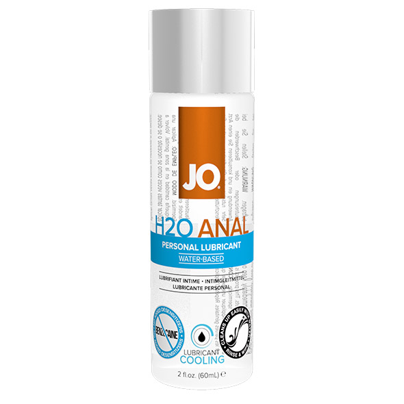 System JO - Anal H2O Lubricant Cool 60 ml