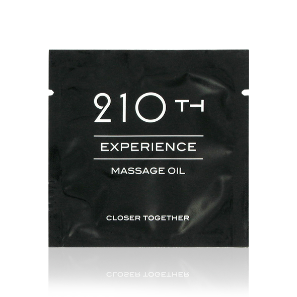 210th - Sachet Massage Oil