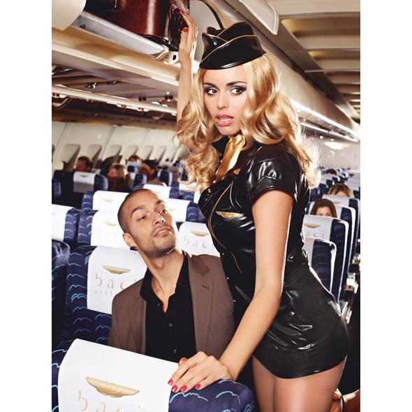 Baci - Sexy Stewardess S/M