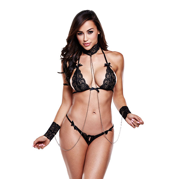 Baci - Lace Love Slave Set One Size
