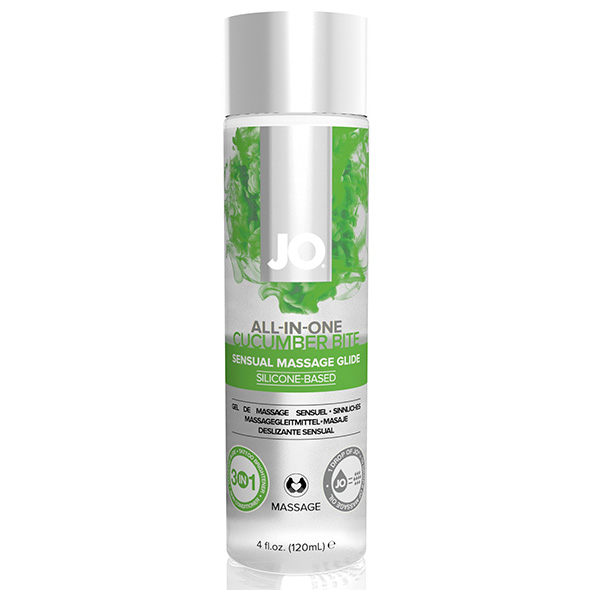 System JO - All-in-One Sensual Massage Glide Cucumber 120 ml