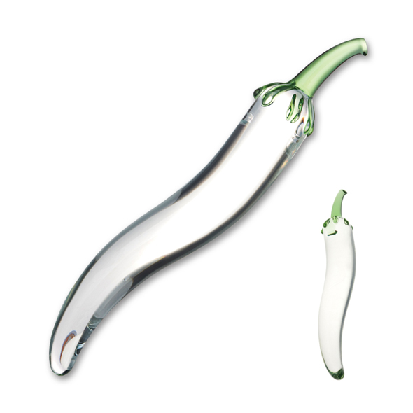 Glas - Naturals Chili Pepper Glass Dildo