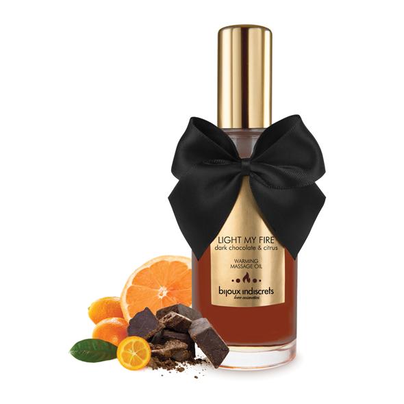 Bijoux Cosmetiques - Warming Oil Dark Chocolate