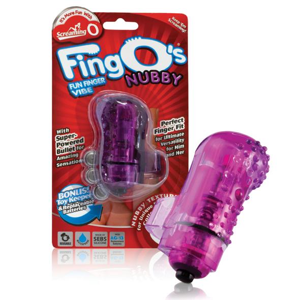 The Screaming O - The FingO Nubby Purple