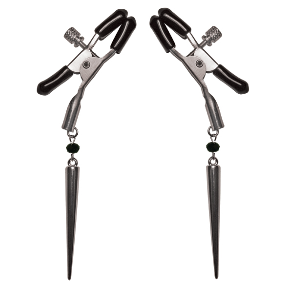 S&M - Silver Spears Nipple Clips