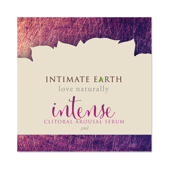 Intimate Earth - Clitoral Arousal Serum Intense Foil 3 ml