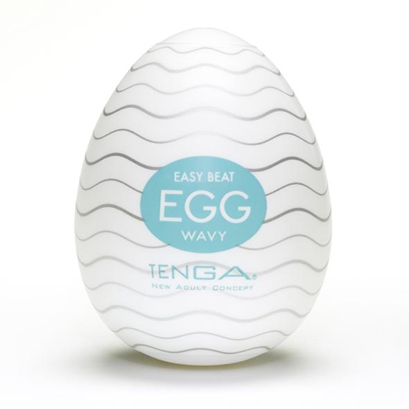 Tenga - Egg Wavy (1 Piece)