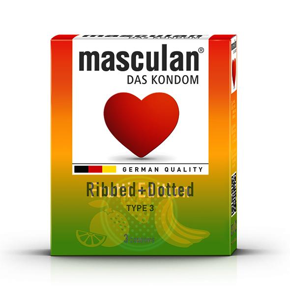Masculan - Tutti Frutti & Stawberry & Green Apple (3 pc) 16 pcs