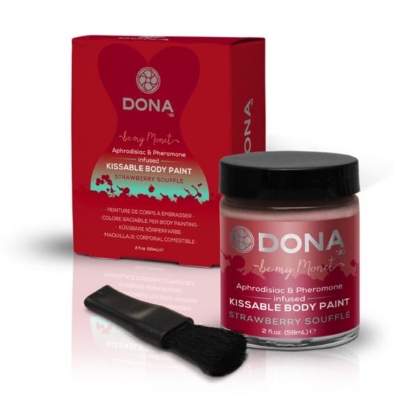Dona - Body Paint Strawberry Souffle 60 ml