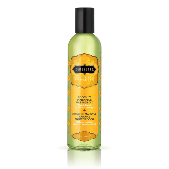 Kama Sutra - Naturals Massage Oil Coconut Pineapple 236 ml