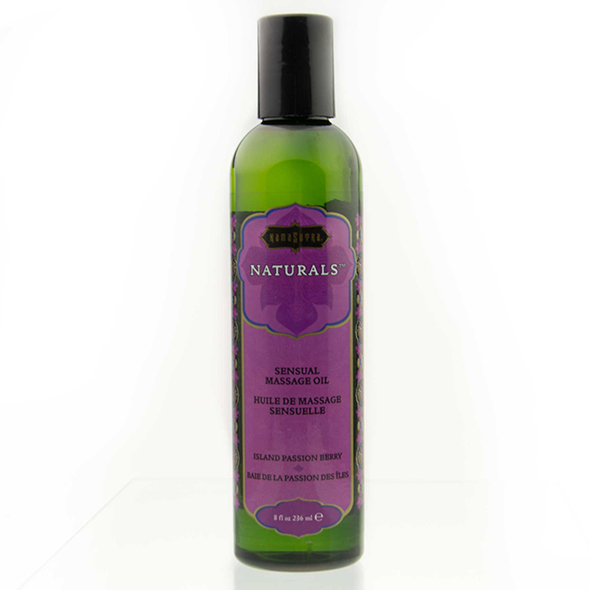Kama Sutra - Naturals Massage Oil Island Passion Berry 236 ml