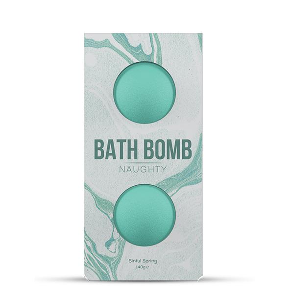 Dona - Bath Bomb Naughty Sinful Spring Bath 140 gram