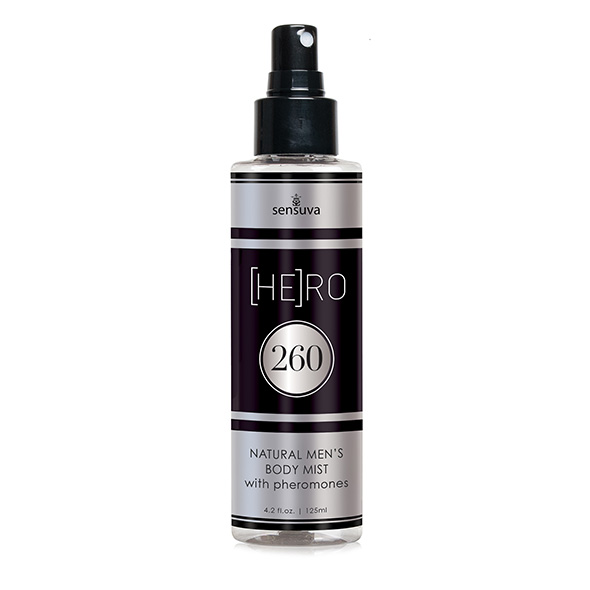 Sensuva - HE(RO) 260 Male Pheromone Body Mist 125 ml
