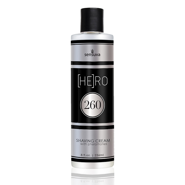 Sensuva - HE(RO) 260 Male Pheromone Shave Cream 236 ml