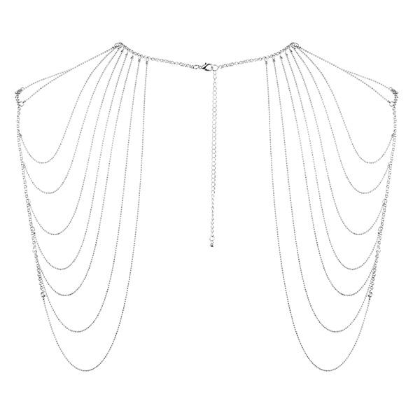 Bijoux Indiscrets - Magnifique Shoulder Jewelry Silver