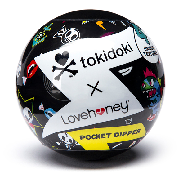 Tokidoki - Textured Pleasure Cup Crossbones