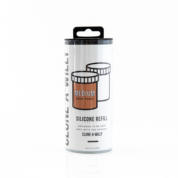 Clone-A-Willy - Refill Medium Skin Tone Silicone