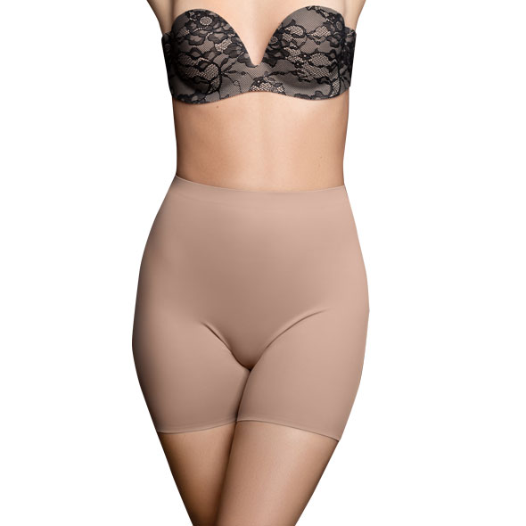 Bye Bra - Invisible Short Nude M