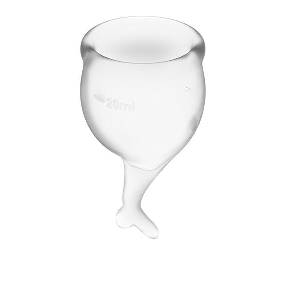 Satisfyer - Feel Secure Menstrual Cup Set Transparent