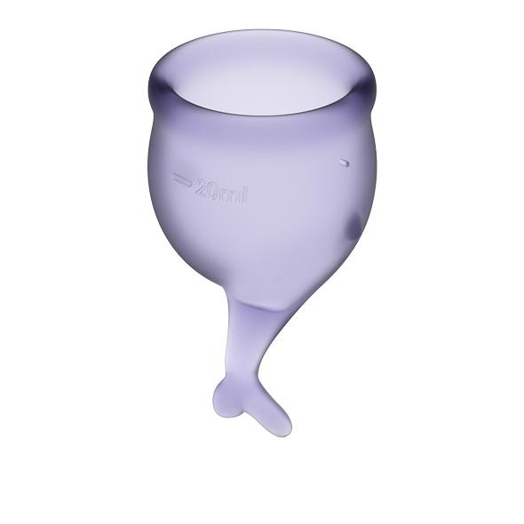 Satisfyer - Feel Secure Menstrual Cup Set Lila