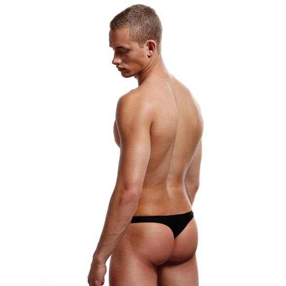 Envy - Low-Rise Thong Black S/M