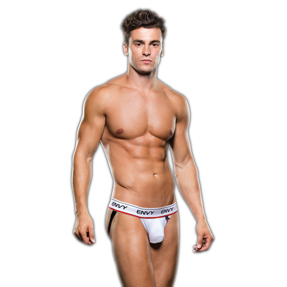Envy - Low-Rise Jock White S/M