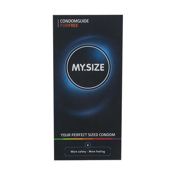My Size - Brochure - Condom Guide EN