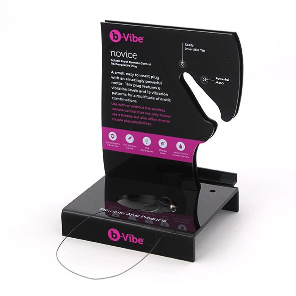 B-Vibe - Novice Plug Tester Display