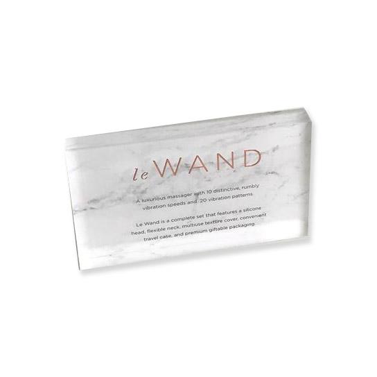 Le Wand - Acryl Brand Block