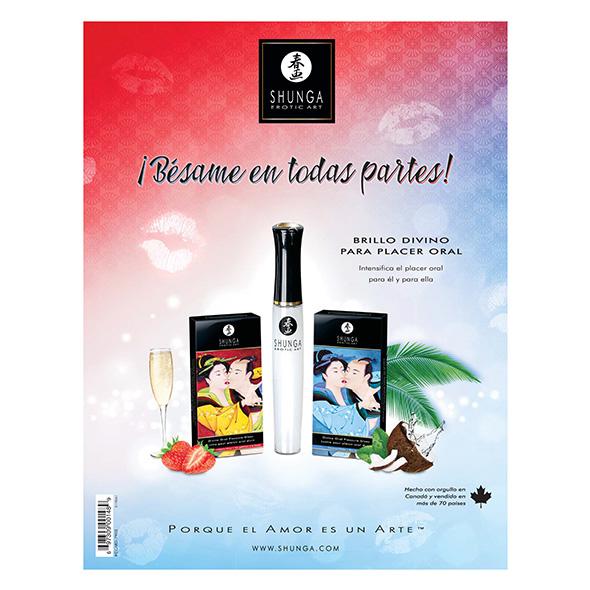Shunga - Counter Card Lip Gloss Spanish